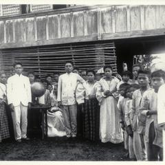 Native teacher, Bacon, 1901