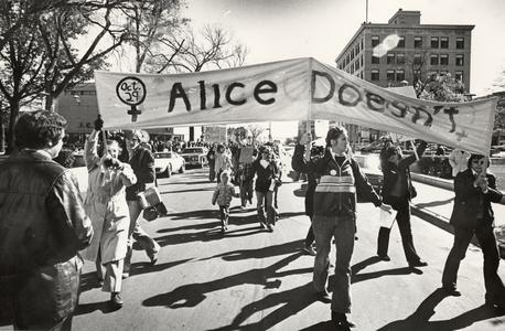 """Alice Doesn't Have Equal Rights"" day rally"