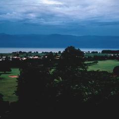 The Capital, Bujumbura, on Lake Tanganyika with Mountains of the Congo