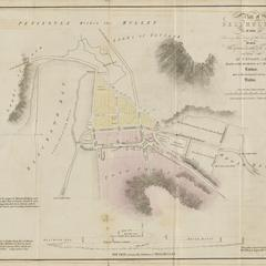 Plan of Belmullet in 1834