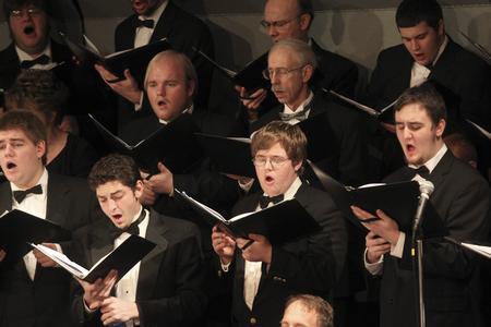 Choir performance, University of Wisconsin--Marshfield/Wood County, 2011
