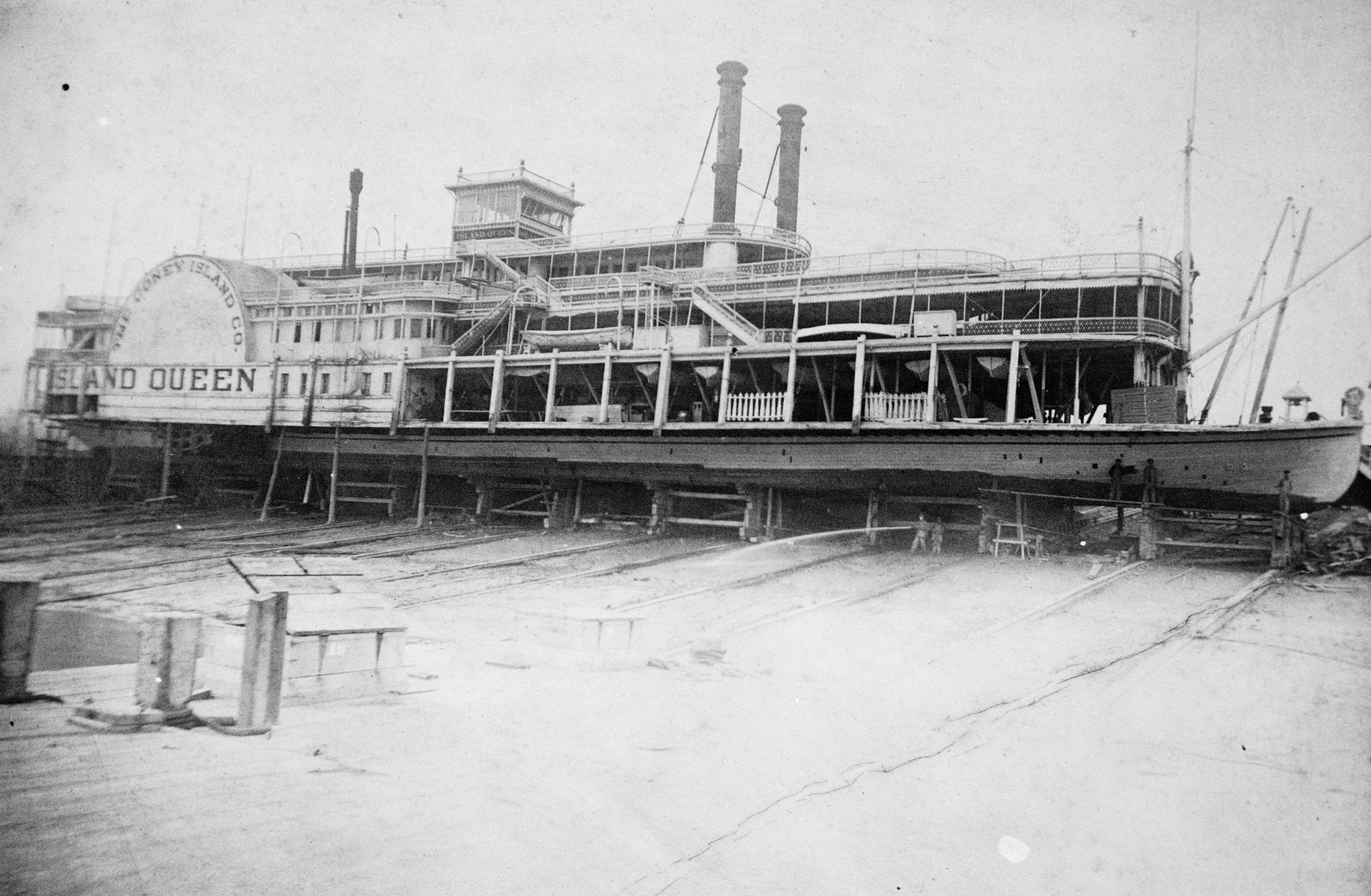 Island Queen (Excursion boat, 1896-1922)