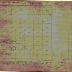[Public Land Survey System map: Wisconsin Township 18 North, Range 02 West]