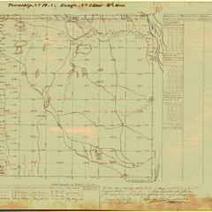 [Public Land Survey System map: Wisconsin Township 14 North, Range 05 East]