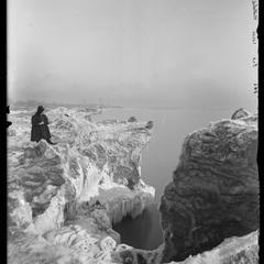Lake Michigan - ice cave - Natalie