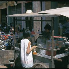 Morning Market : cold drink stand