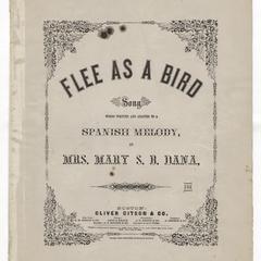 Flee as a bird