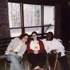 Participants at 2001 Student of Color Leadership Retreat.