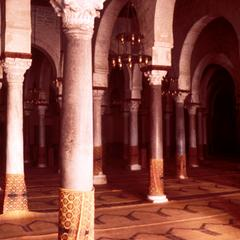 Pillars Inside Grand Mosque in Kairouan