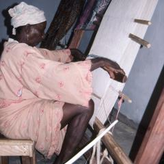 Weaving at Ogidi Center