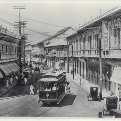 Manila streetcar, early 1900s