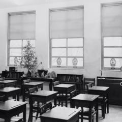 Interior photo of St. Thomas School