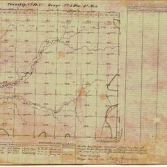 [Public Land Survey System map: Wisconsin Township 12 North, Range 05 West]