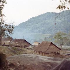 A White Hmong village in Houa Khong Province