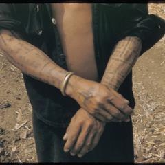 Kammu (Khmu') with tattoos