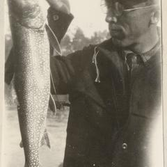 """""""Carl's catch,"""" Quetico, June 1924"""