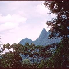 Mountains near Muang Kasy