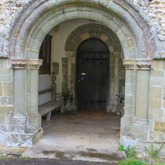 Breamore St Mary southwest porch doorway