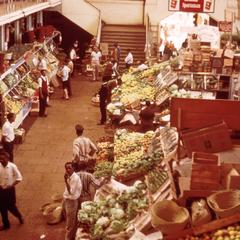 Vegetable Market in Nairobi
