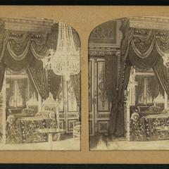 Chambre à coucher de S. M. l'Empereur (Château de Fontainebleau)
