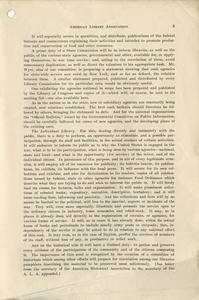 Page 5 - Our libraries and the war : report of preliminary committee to the American Library Association, at its annual meeting at Louisville, June 22, 1917