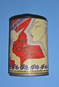 Lander Pixie Violet Talc