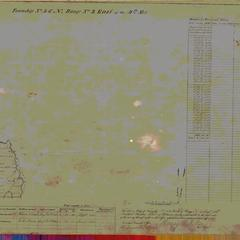 [Public Land Survey System map: Wisconsin Township 46 North, Range 03 East]