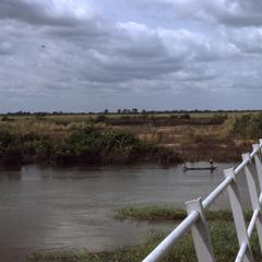 River and bridge in Eastern Nigeria
