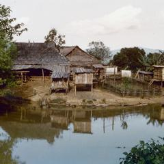 The Yao (Iu Mien) village of Houei Lai in Houa Khong Province