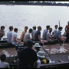 """Boat races : Lao-American Association """"horsing around"""""""