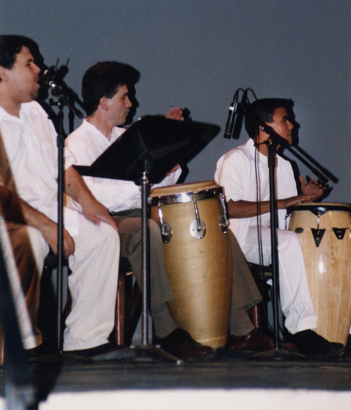 Melao de Cana performs at 2002 MCOR