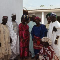 Pashua and others at Makinwa funeral