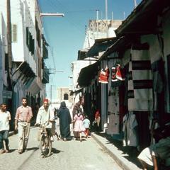 A Narrow Street in the Medina (Old City) in Rabat