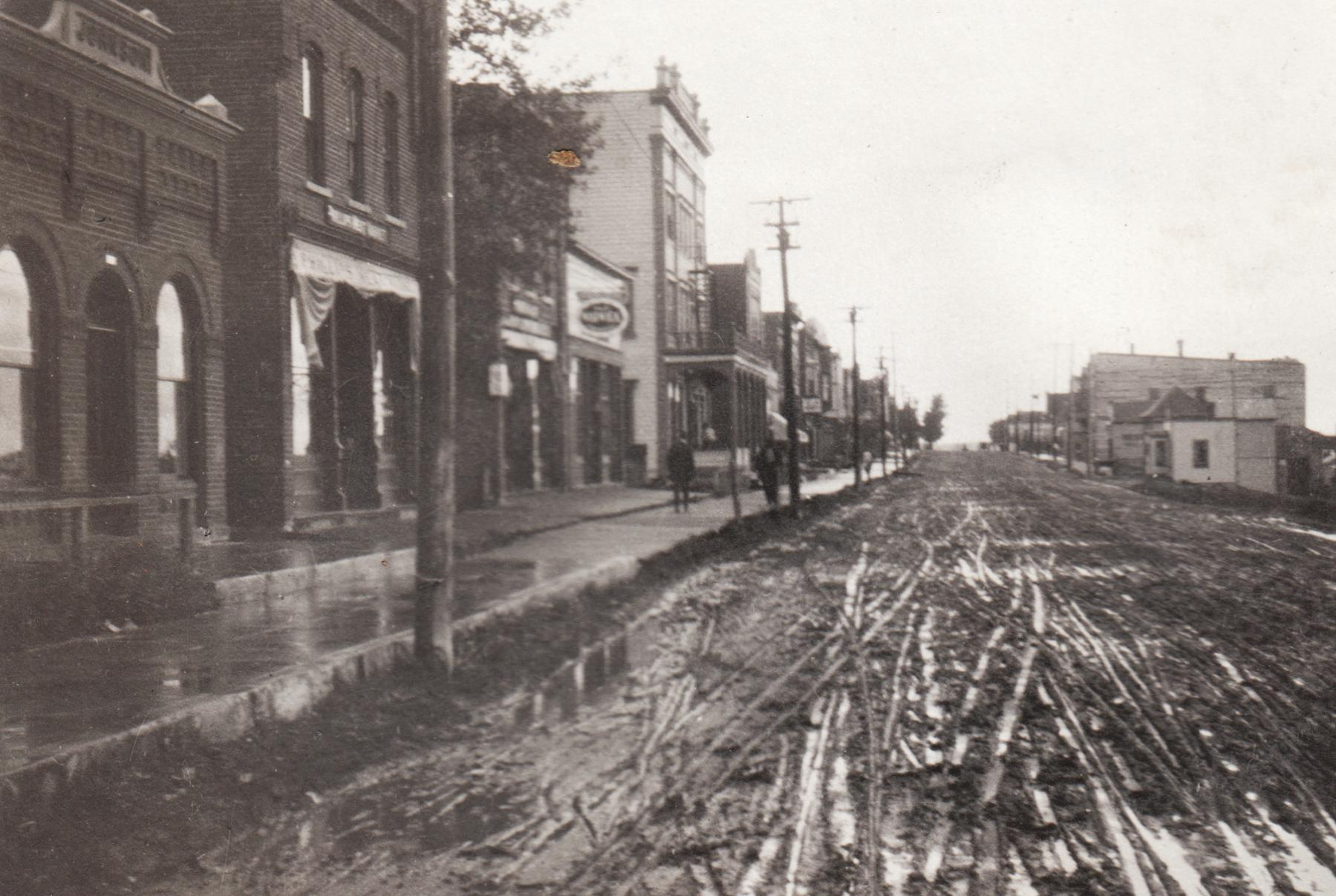Main Street, Phillips, Wisconsin