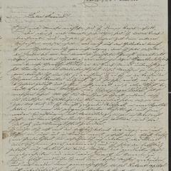 [Letter from Alois Roth to his friend Jakob Sternberger, June 24, 1853]