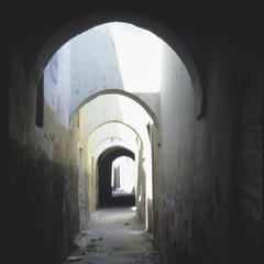 Arched Street in Old Part of Tripoli