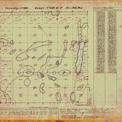 [Public Land Survey System map: Wisconsin Township 14 North, Range 19 East]