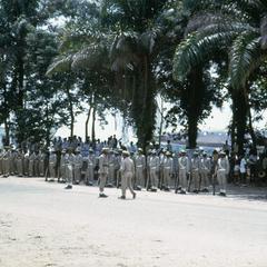 FAC (Later FAZ) Units Awaits Arrival of General Lundula