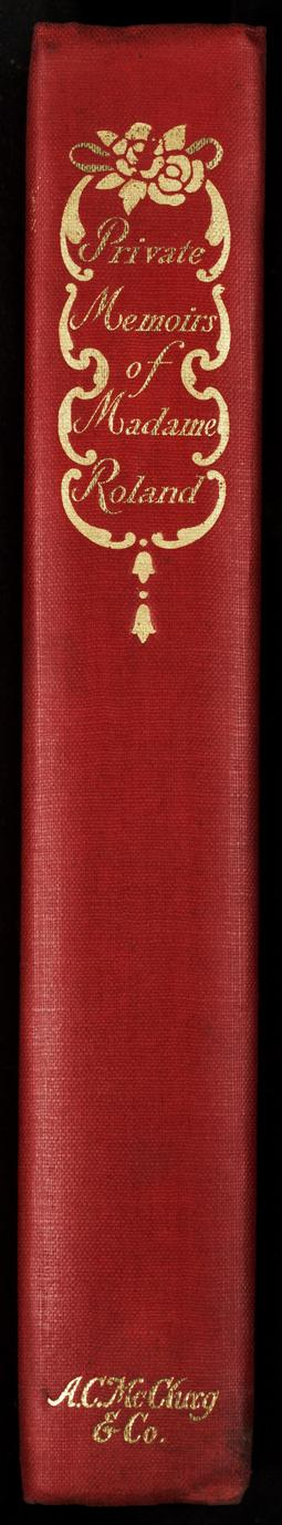 The private memoirs of Madame Roland (3 of 4)