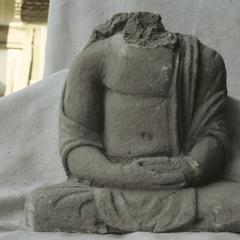 NG387, Stucco Bodhisattva