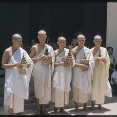 2500th Anniversary of Buddhism- boun -waiting to be ordained a monk