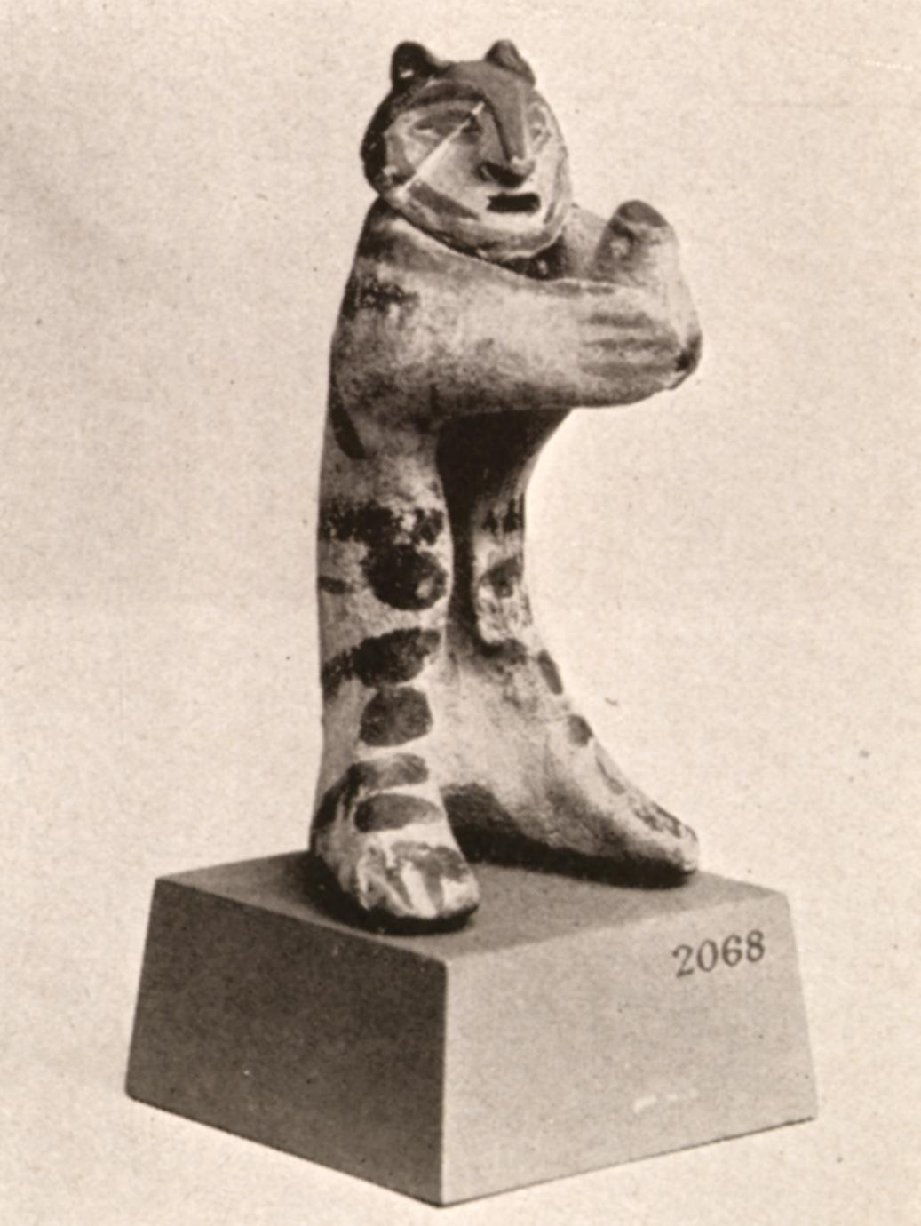 Ancient Primate Sculpture
