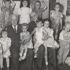 Children of veterans at Badger Village