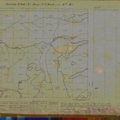 [Public Land Survey System map: Wisconsin Township 46 North, Range 01 West]