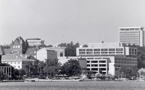 Memorial Union and surroundings