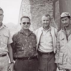 USAID officials and Lao military officers