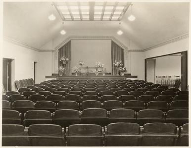 Stage in the Carnegie building of the Wausau Public Library 1929