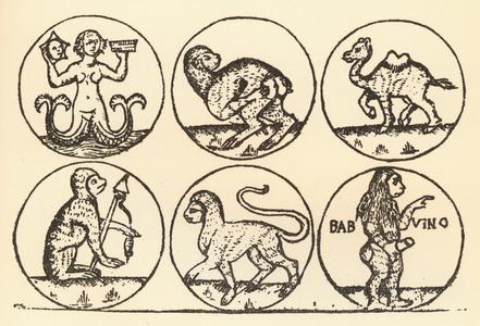 Florentine Engraving of c. 1460-1470.