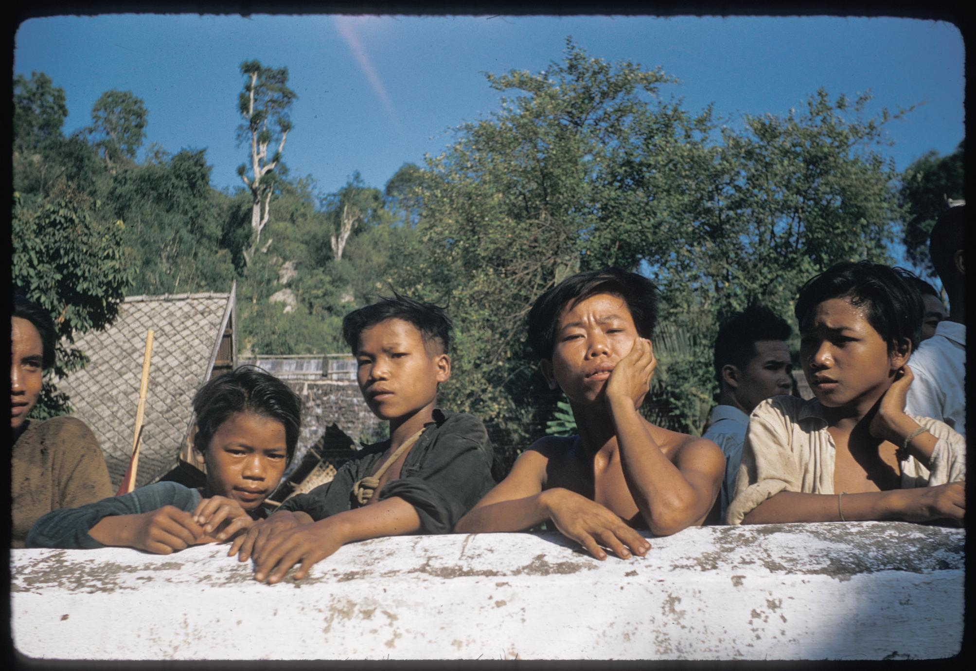Kammu (Khmu') boys in Luang Prabang