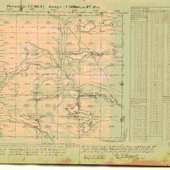 [Public Land Survey System map: Wisconsin Township 20 North, Range 11 East]